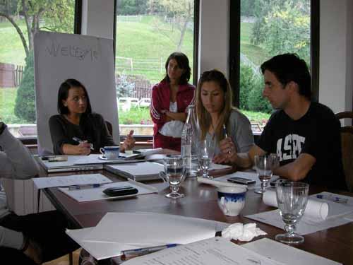 Aspen Institute's Young Leaders Program, Module 3, Day 1