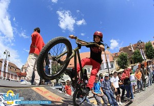Young people in Deva want a BMX park