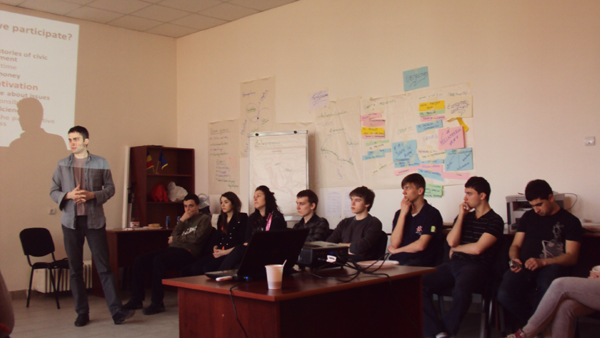 Training ENGAGEMENT with international participants, Iasi, Romania, March 2011