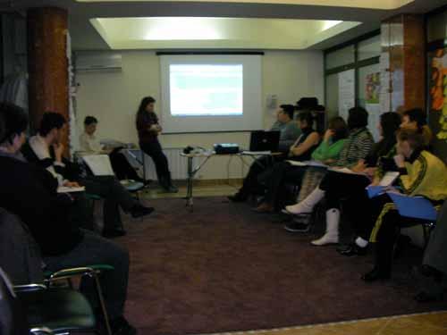 Training pe Serviciul European de Voluntariat, Predeal, 3-7 februarie 2010