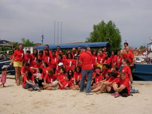 Participantii la laboratorul de educatie nonformala 2010.