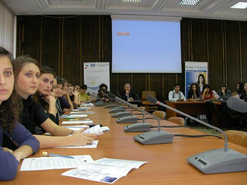 Consiliul Tineretului din Romania, conferintele Implicare pentru Dezvoltare; partener Metoda SMART de Politici Publice