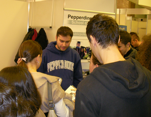 Universitatea Pepperdine la RIUF, editia 7