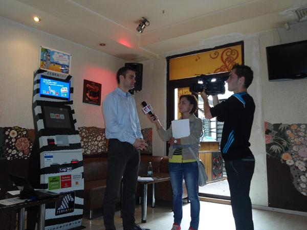 Lansare terminale de plati electronice ZebraPay la Galati