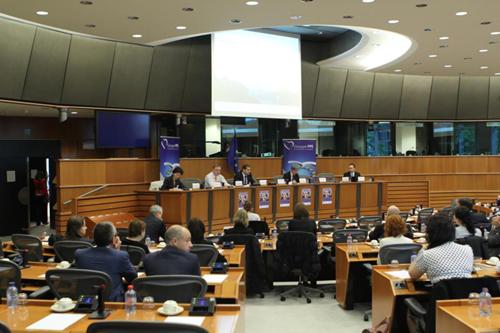 Tineri intreprinzatori in Parlamentul European