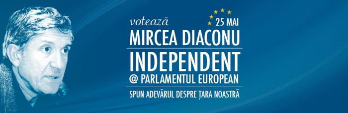 Mircea Diaconu in Parlamentul European